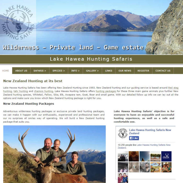 Hawea Hunting